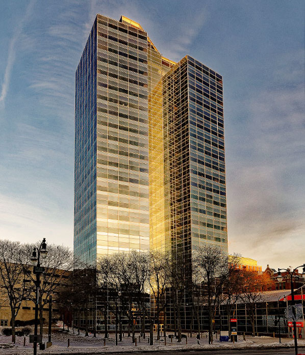 Location of our investment advisory firm at 446 Main St 8th floor, Worcester, MA 01608